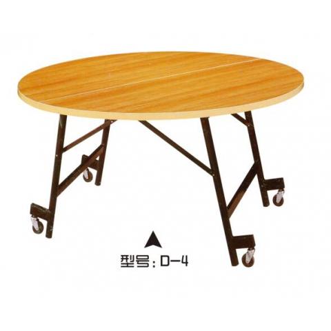 胜芳方圆桌批发 圆形简易折叠餐桌 正方形餐桌 酒店大圆桌 小户型家用折叠饭桌 鑫磊家具