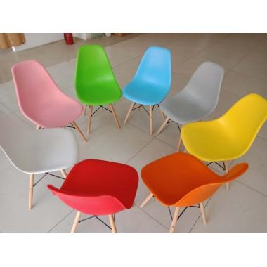 胜芳家具批发伊姆斯椅子现代简约书桌椅家用餐厅靠背椅电脑椅凳子实木北欧餐椅兴东家具