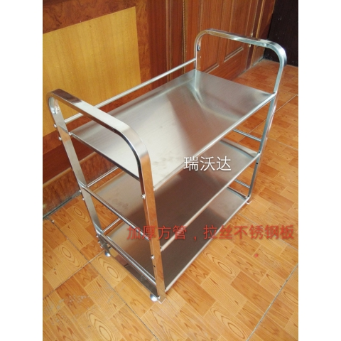 胜芳置物架菜架批发不锈钢方管加厚置物架瑞沃达家具