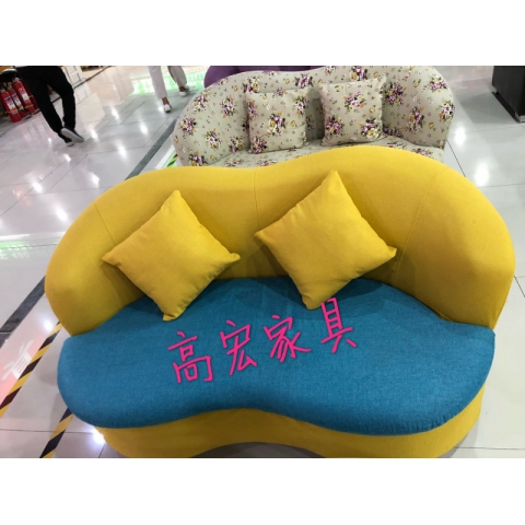胜芳家具批发沙发沙发床 折叠沙发田园沙发布艺沙发