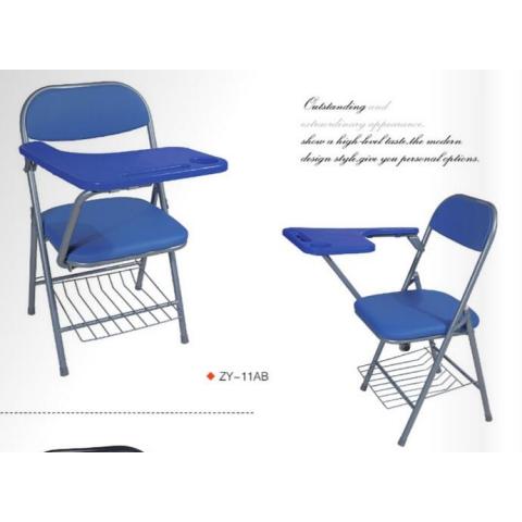 胜芳折叠椅批发 双折椅 折叠椅 家用会客椅 记者椅 写字板椅 电脑椅  华特家具