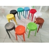 胜芳塑料凳子批发 加厚成人家用餐桌凳 高凳子 小板凳 方凳 圆凳  简易家具 金兴家具
