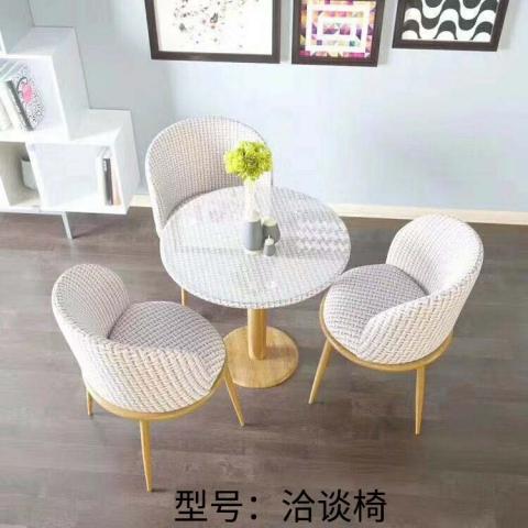胜芳家具批发 咖啡台 咖啡桌椅组合 茶桌椅组合 三件套会客桌椅 接待桌椅 洽谈桌椅 简约现代 华惠家具
