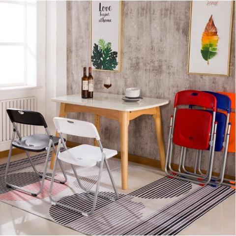 胜芳88必发手机版登录 培训椅 塑料 可折叠椅子 职员办公接待椅 会场靠背椅子 会议折椅 红利家具厂办公椅批发