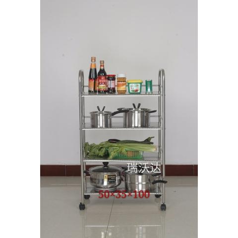 胜芳置物架批发多层不锈钢置物架厨房置物架瑞沃达家具