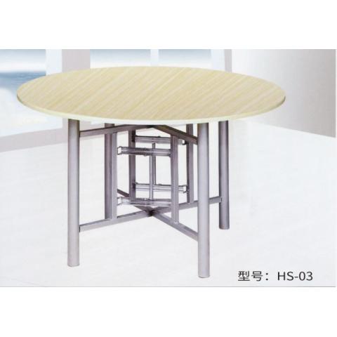 胜芳方圆桌批发 圆形简易折叠餐桌 正方形餐桌 酒店大圆桌 圆形折叠桌 小户型家用折叠饭桌 红生家具