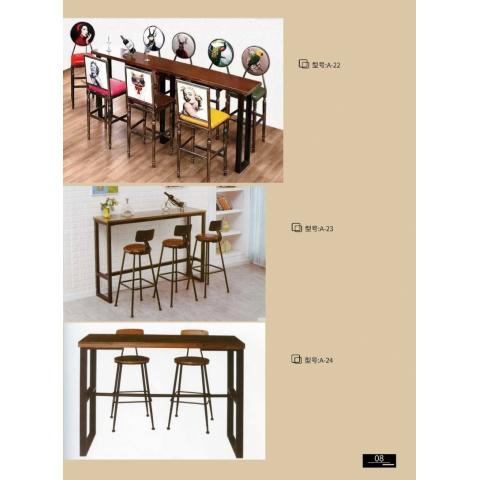 胜芳88必发手机版登录 吧椅 吧桌 餐椅 餐桌 快餐桌 北欧工业风家具 美珠家具