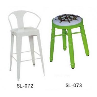 胜芳胜博发网站 美式复古酒吧椅 油桶凳 油漆桶 吧台凳 圆形铁皮桶 吧凳 储物凳子 盛隆家具