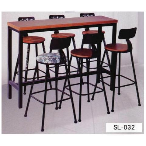 胜芳酒吧椅批发 酒吧台椅 复古美式吧椅组合 高脚椅凳 KTV前台椅 高脚椅 吧台凳组合 靠背酒吧椅 盛隆家具
