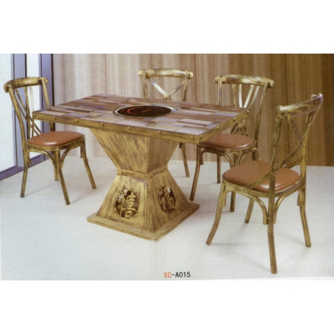 胜芳餐桌椅批发 复古工业风桌椅 转印餐桌椅 铁艺桌椅椅 复古桌椅 快餐桌椅 个性主题桌椅 钢木家具 澳门葡京网上娱乐家具 鑫成家具