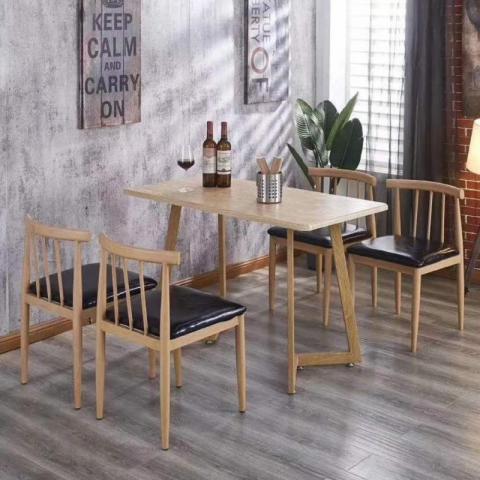 胜芳餐桌椅批发 复古式餐桌椅 实木餐桌椅 主题餐桌椅 转印餐桌椅 钢木家具 快餐桌椅 休闲家具 鑫成家具