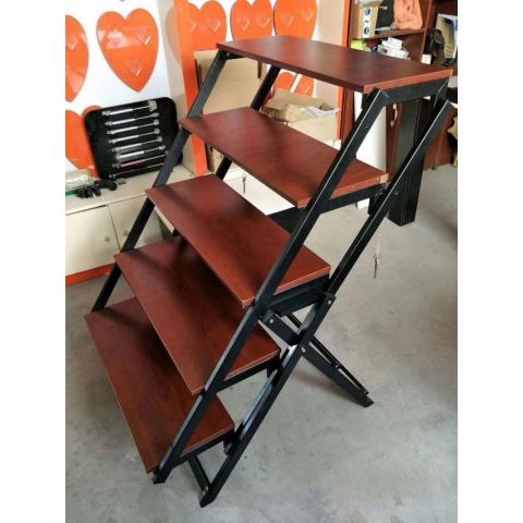 胜芳折叠桌批发 大型折叠桌 花架 折叠长桌 木质折叠桌 可变桌子 变形旋转 多功能伸缩升降变大餐桌 鑫成家具