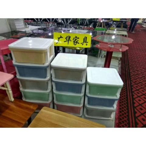 胜芳批发收纳柜收纳盒收纳箱多用柜储物柜床头柜