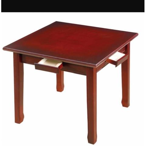 胜芳麻将桌批发 实木麻将桌 两用棋牌桌 折叠麻将桌 实木餐桌