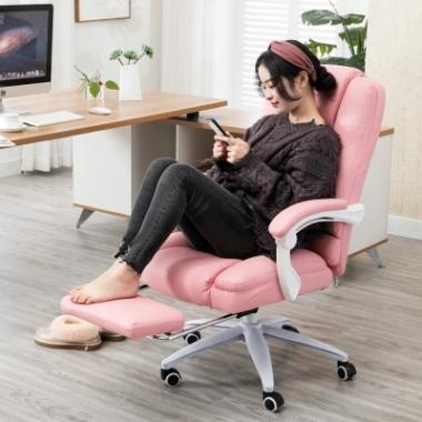 电脑椅直播椅家用游戏椅舒适久坐可躺老板椅办公椅电竞椅主播椅子