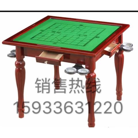 胜芳麻将桌批发 实木麻将桌 餐桌 两用麻将桌 多功能麻将桌 休闲娱乐桌