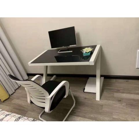 胜芳电脑桌批发 玻璃电脑桌 现代简约电脑桌 办公桌
