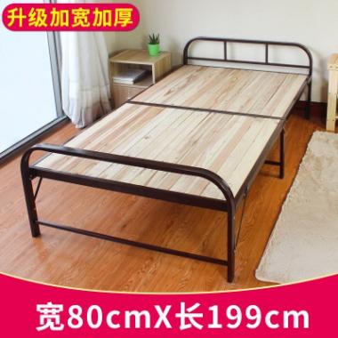 折叠床床垫单双人收纳收缩铁床可折叠床家具90伸缩铁架方便结实