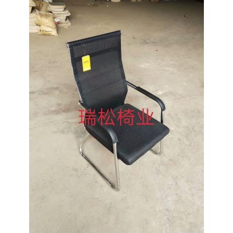 胜芳办公家具办公椅会议椅电镀四腿椅,转椅吧椅