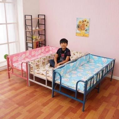 儿童床睡觉可折叠小学生午睡床的儿童折床休息组合家居家具单人