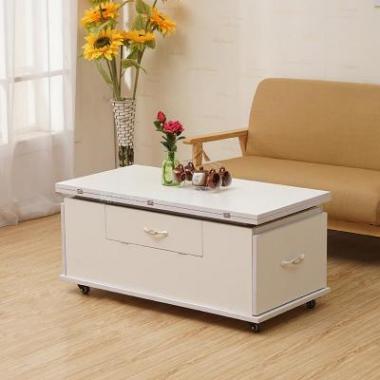 创意家具小户型新款方形多功能折叠升降茶几餐桌两用客厅餐厅