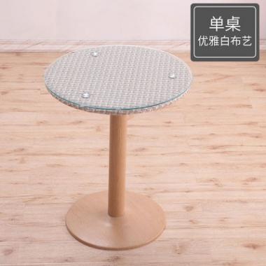 家具咖啡谈判桌桌面简约茶几可移动花店影楼洽谈个性简易休息室