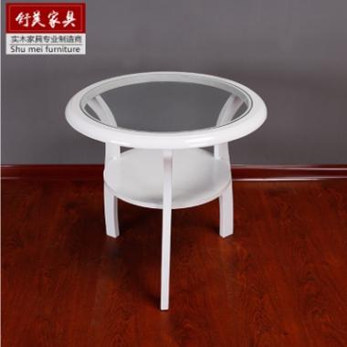 实木圈椅三件套新中式红木休闲宾馆酒店家具围椅单人沙发椅子茶几