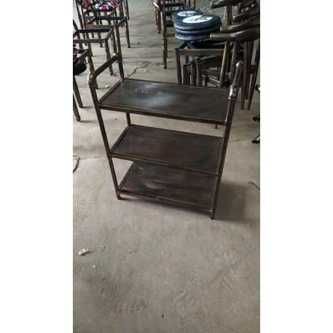 胜芳置物架批发不锈钢置物架饭店菜架 恒隆家具