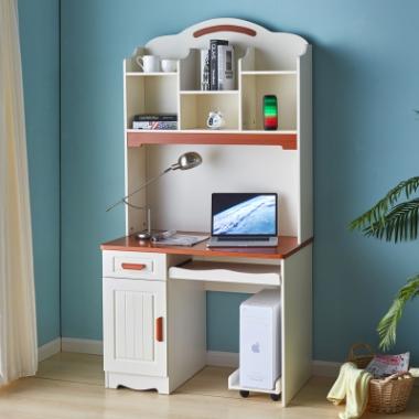 北欧电脑桌台式书桌家用简约现代易抽屉锁写字台小桌子笔记本万博manbetx在线