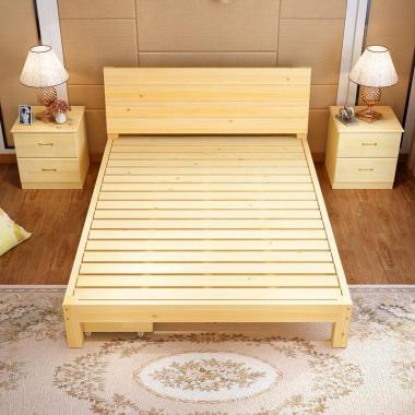 【包邮】儿童护栏床欧式床头卧室家具套装北欧床双层床成人午睡床折叠床单