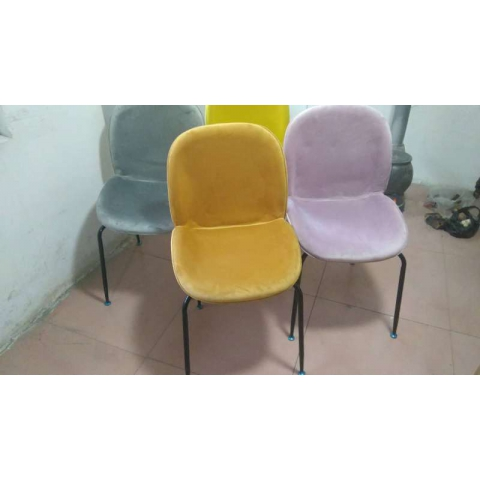 胜芳休闲椅批发 现代简约 靠 背椅子 家用餐椅 成人 北欧休闲 创意凳子 美式复古 塑料椅子 太阳椅 会议椅子 立翔家具