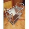 胜芳置物架批发三层不锈钢方管加厚置物架菜架瑞沃达家具
