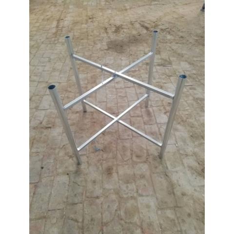 胜芳桌架批发 折叠桌架 不锈钢桌架 餐厅酒店桌架