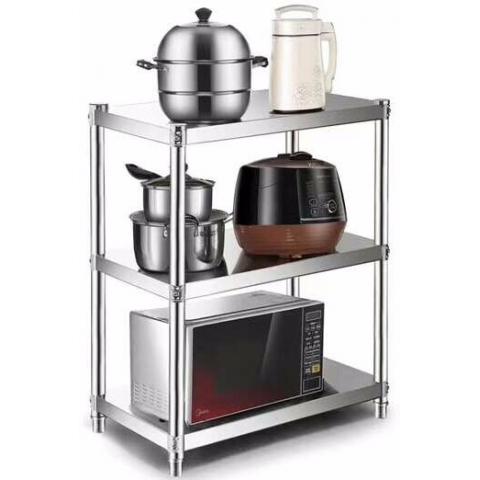 胜芳置物架批发不锈钢置物架瑞沃达家具