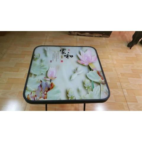 胜芳餐台批发 餐桌 玻璃餐桌 玻璃餐台 小户型餐桌 钢化玻璃餐桌 平板玻璃餐 餐厅家具 可折叠 饭店家具 简易家具 宝艺家具