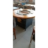 胜芳88必发手机版登录 卡座 咖啡椅 懒人椅 沙发椅 复古铁艺卡座 休闲 餐馆西餐厅咖啡厅桌椅组合 谈桌椅组合 鑫磊家具
