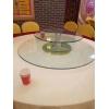 胜芳批发钢化玻璃转盘加餐台转盘车彩玻