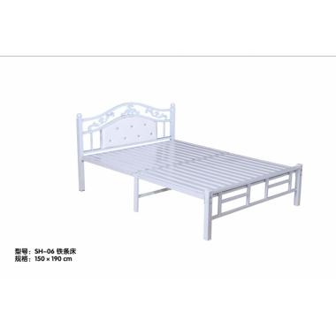胜芳床铺批发 折叠床 单人床 双人床 午休床 行军床  简易床 铁质板床 板床批发  宏升家具