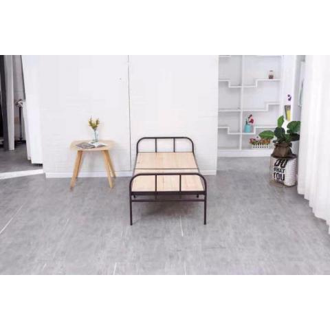胜芳床铺批发 折叠床 单人床 铁艺折叠床 简易床  顺合家具