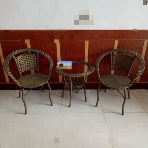 胜芳藤椅 藤椅茶几组合 藤编椅子 阳台桌椅 庭院桌椅 休闲桌椅 咖啡台桌椅批发 室内家具 休闲家具 藤制家具 户外家具 鑫兴家具