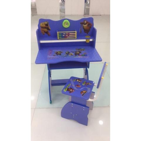 胜芳儿童课桌椅批发儿童学习桌卡通桌塑料桌板式课桌可升降