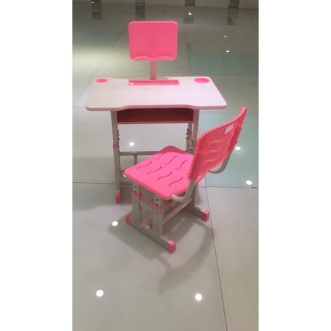 胜芳儿童课桌椅批发儿童学习桌塑料桌板式课桌卡通课桌可升降