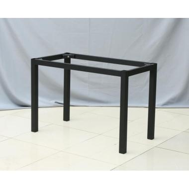 胜芳桌架批发 大板桌腿支架 铁艺实木办公桌架 大理石不锈钢餐台桌脚支架子 全美家具