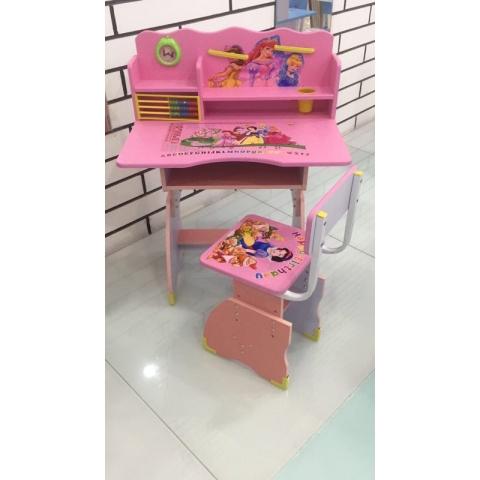 胜芳儿童课桌椅批发儿童学习桌塑料课桌板式课桌卡通课桌
