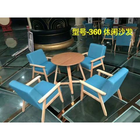 胜芳咖啡台北欧实木小圆桌客厅创意个性树脂茶几网红桌子咖啡桌厂家定制迪雅佳家具