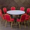 家具批发酒店椅,宴会椅,将军椅,黄冠椅,宝宝椅,铁皮椅,牛角椅,桌布,椅套,达成家具