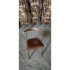胜芳餐椅批发休闲椅电镀餐椅主题餐椅美杉家具