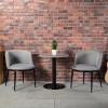 胜芳在线88必发手机版登录 北欧餐桌椅 组合三件套 现代简约 休闲洽谈桌 小圆桌 咖啡桌 玻璃小户型 澳典家具