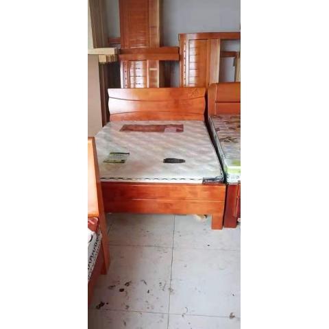胜芳床铺批发 双人床 实木床  木质  北欧家具 卧室家具 酒店家具 宇鑫家具