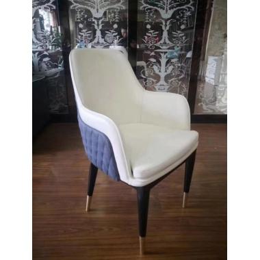 添隆餐椅批发电镀金创意餐椅靠背椅美容美甲椅化妆椅梳妆椅餐厅休闲甲壳虫椅 添隆家具